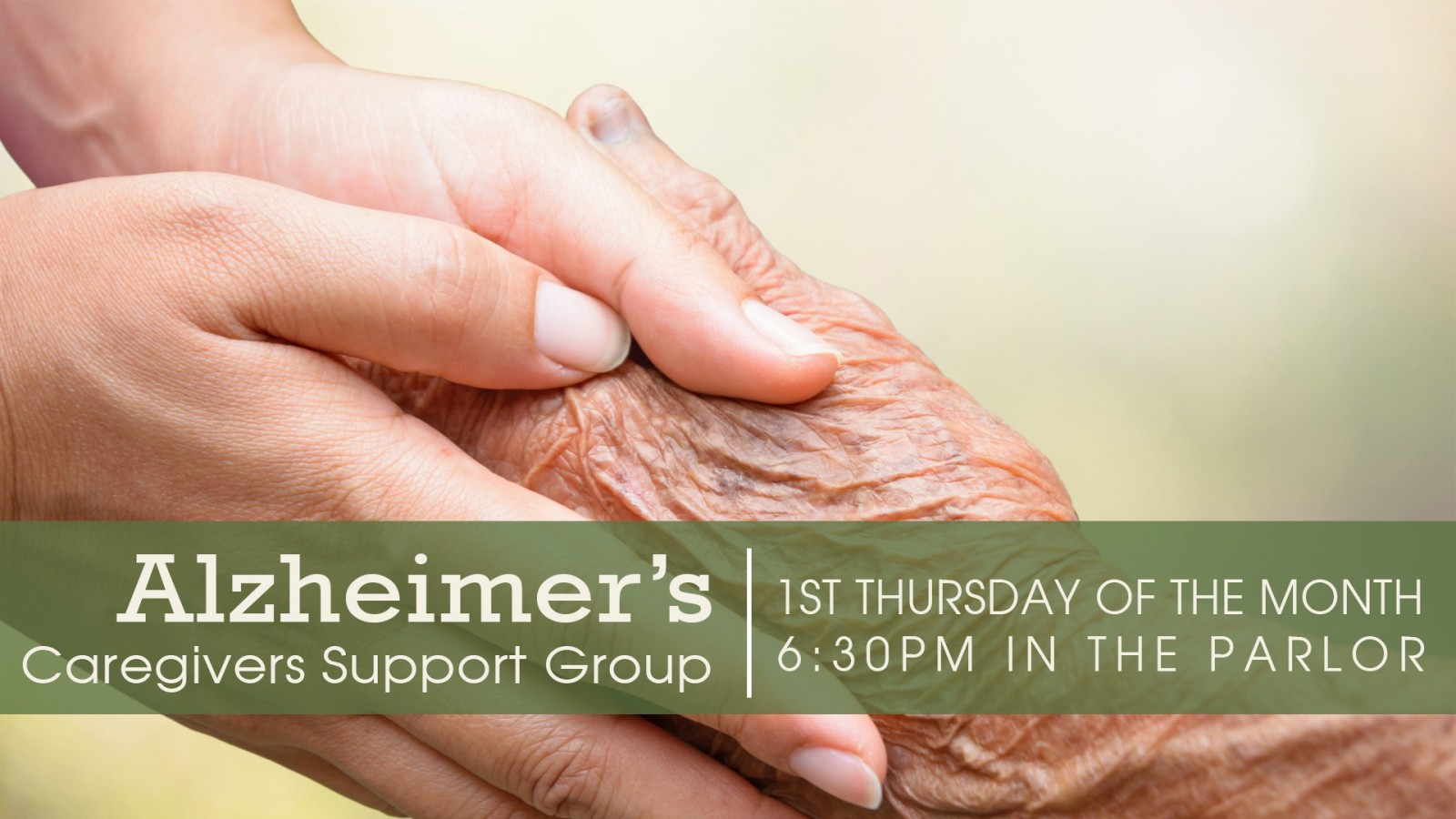 Alzheimer's Caregivers Support Group | slide
