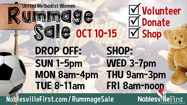 Rummage Sale | 2021 web-b