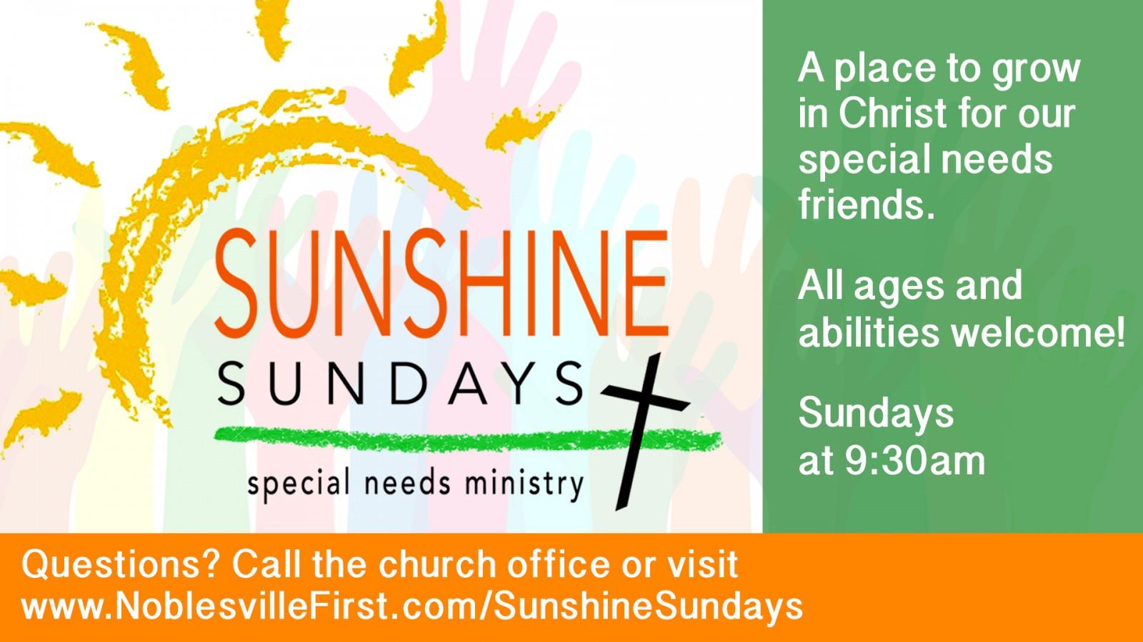 Sunshine Sundays | slide2