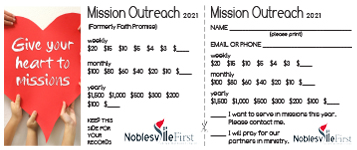 Mission Outreach | 2021 card