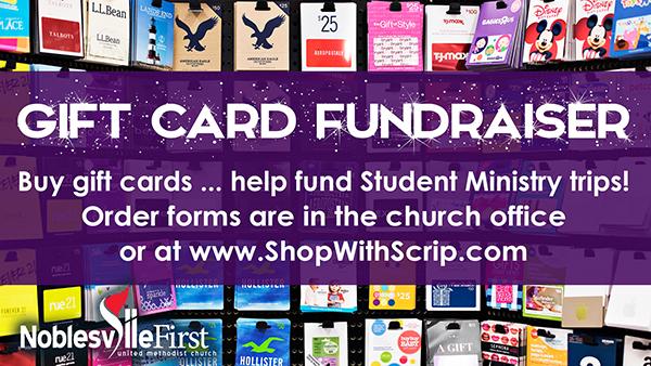 Scrip fundraiser | 2019 web