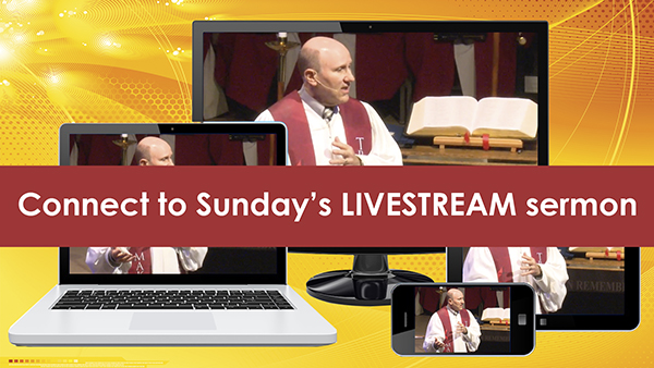 Sermon livestream | web