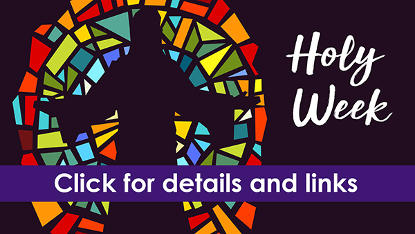 Holy Week | 2020 website graphic