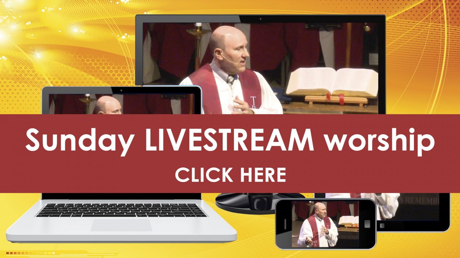 Livestream worship | click here - slide2