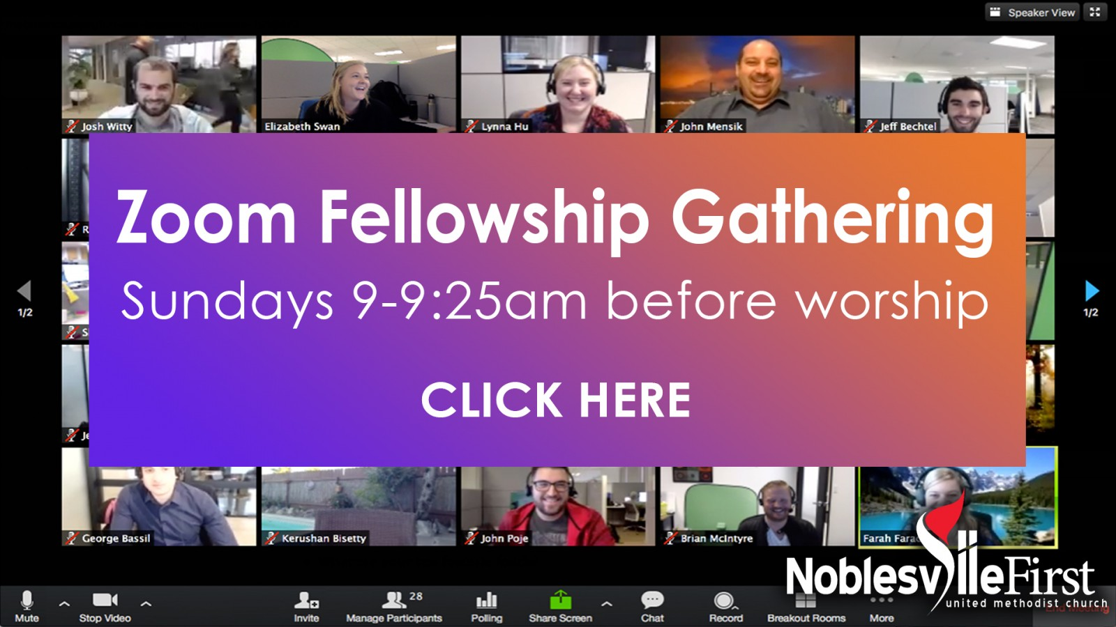 Zoom Fellowship Gathering | click here - slide2