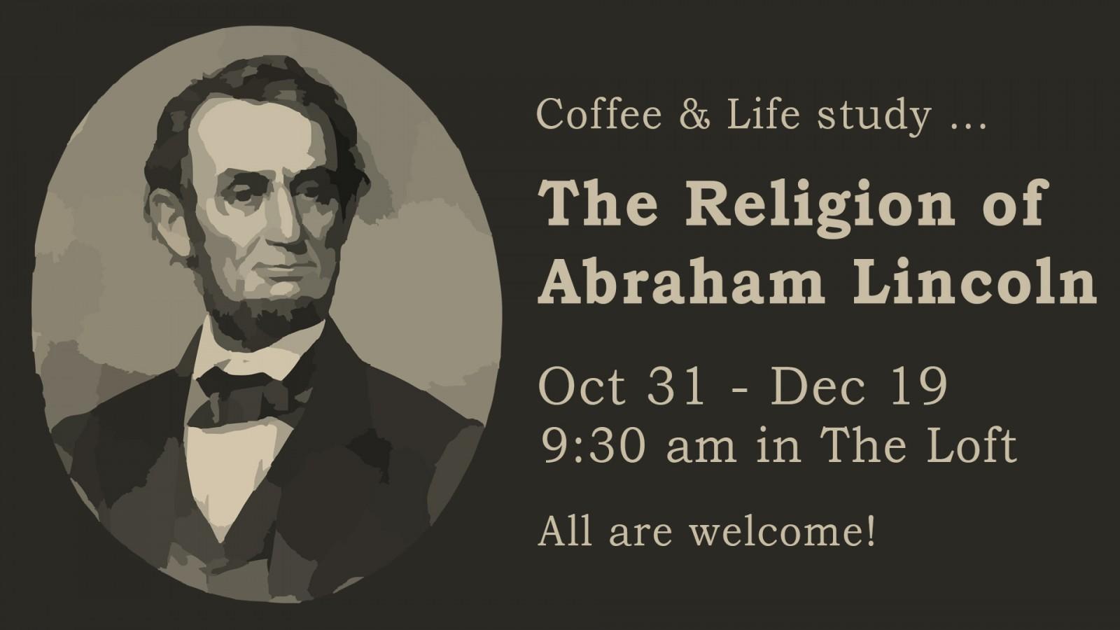 The Religion of Abraham Lincoln slide-b