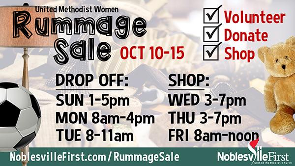 Rummage Sale | 2021 web