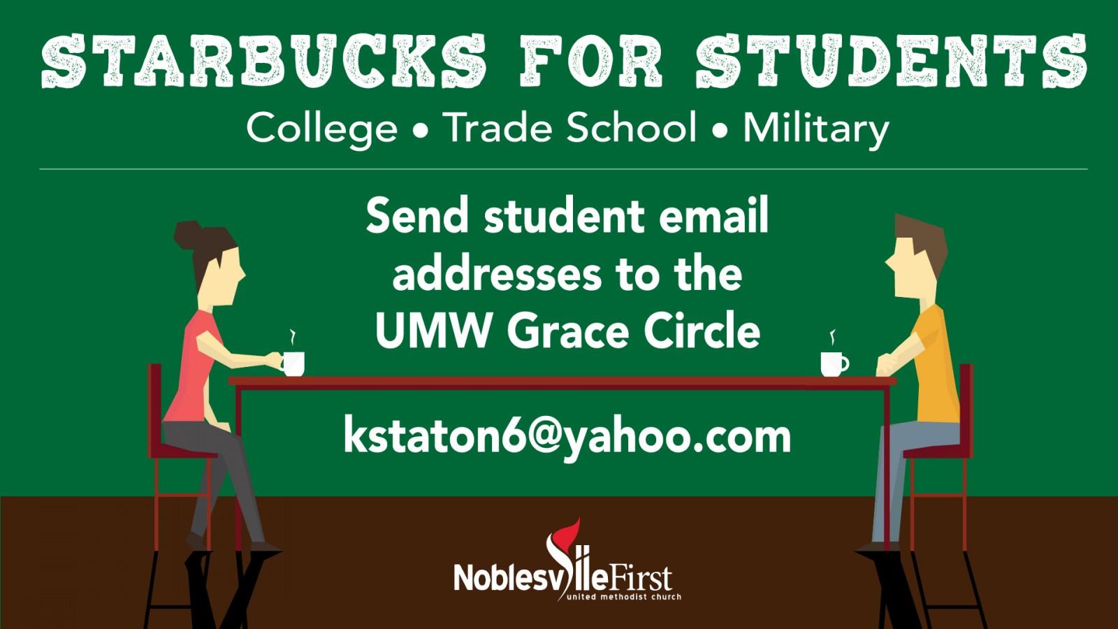 Starbucks for Students - names