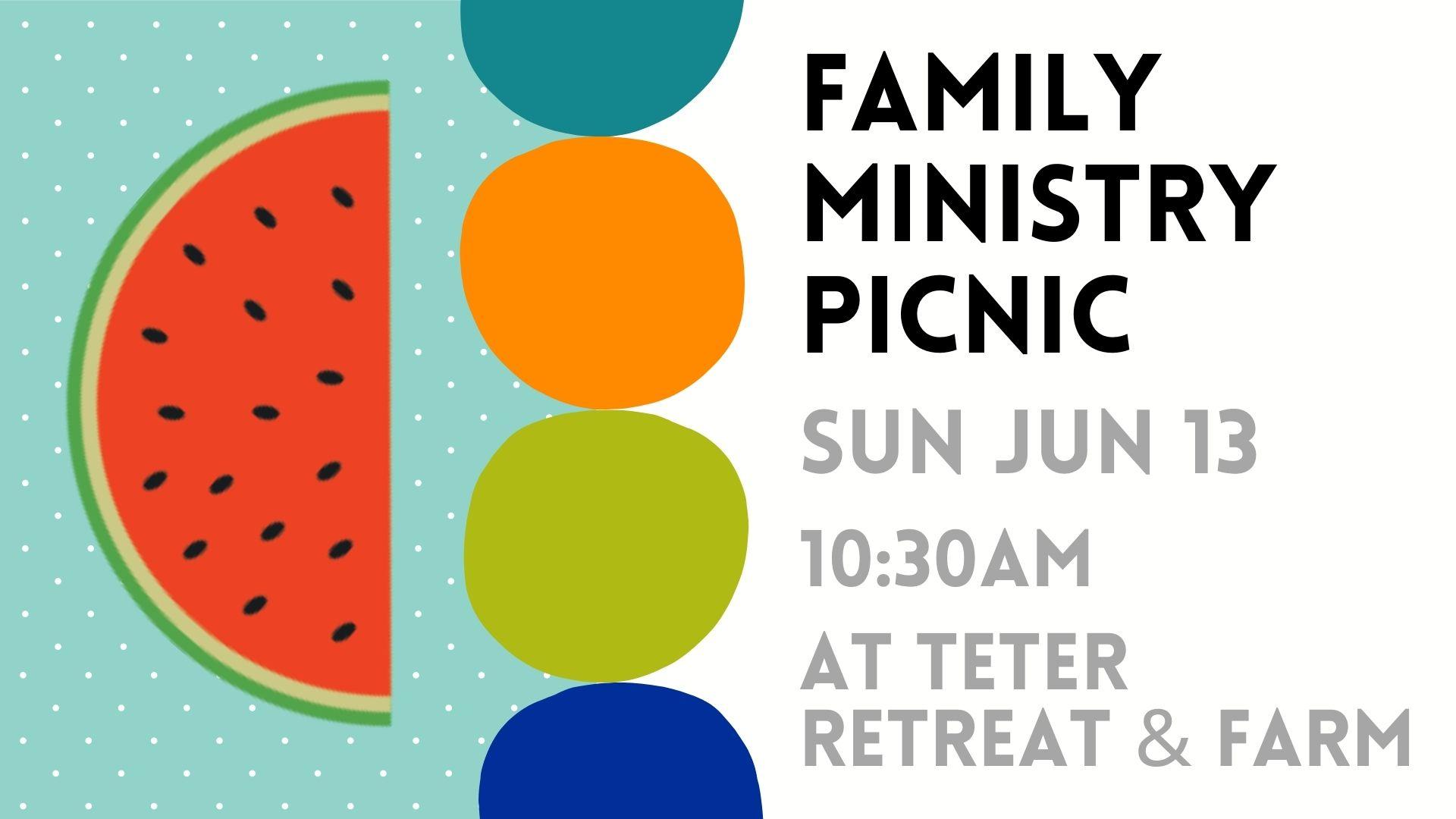 Family Ministry Picnic | slideA